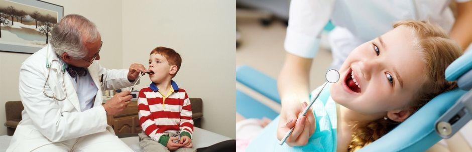 Консультация детского ортодонта